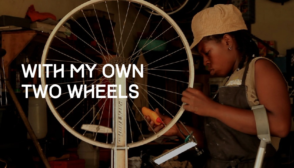 With My Own Two Wheels